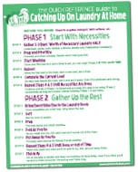 how to catch up on laundry step by step printable guide