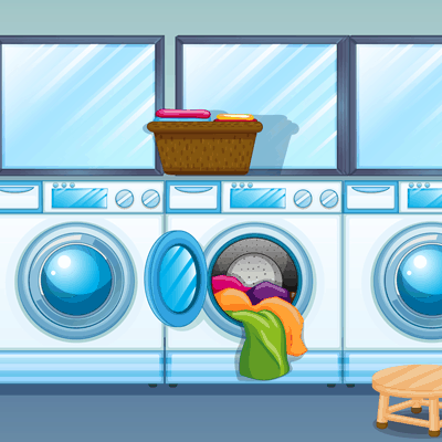 how to use a laundromat
