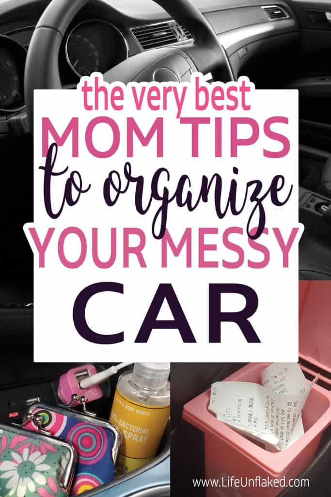 car organizing ideas and tips