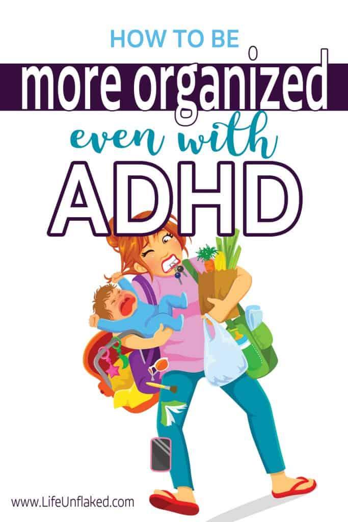 mom organization tips for disorganized mom