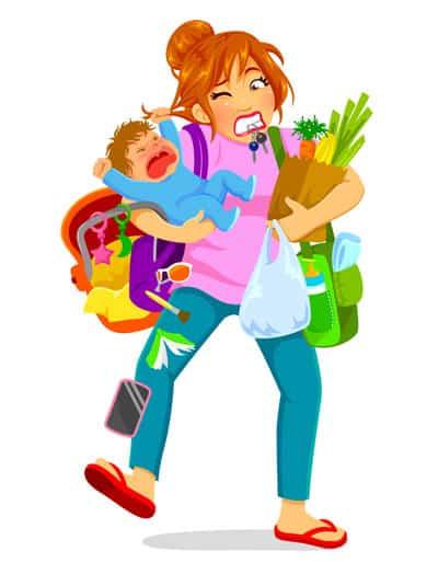 organization for moms tips