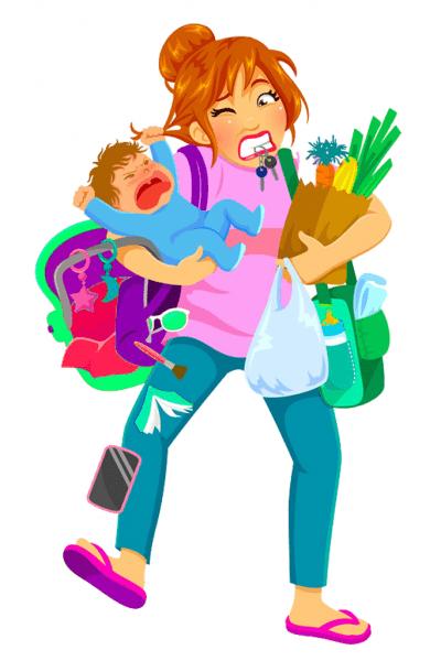 disorganized mom who needs organization