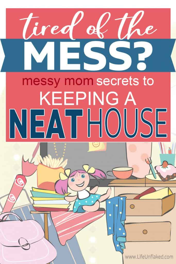 messy house and how to keep it tidy
