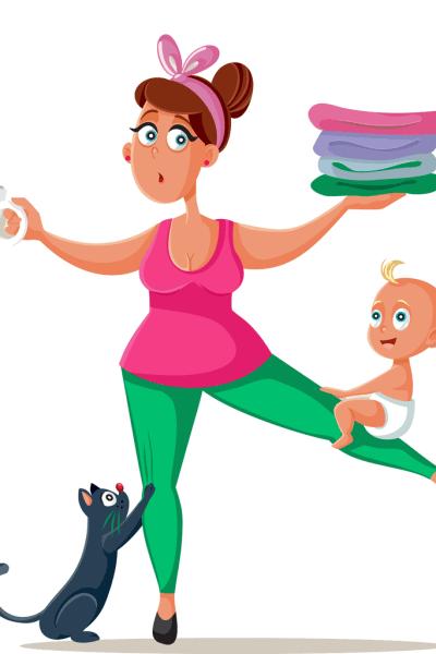 busy mom who needs organization